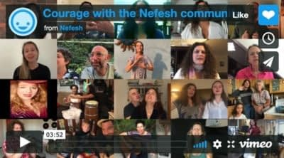 Courage with the Nefesh Community - Full music video