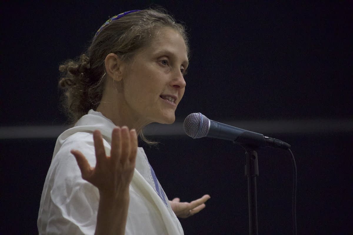 Rabbi Susan speaks